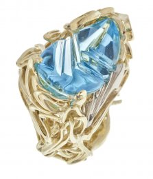 Burning Water Fantasy Topaz Ring