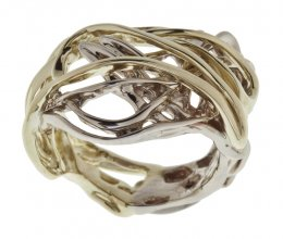 Burning Water Ladies Ring