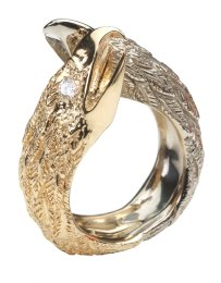 Falcon Princess Cut Diamond Ring